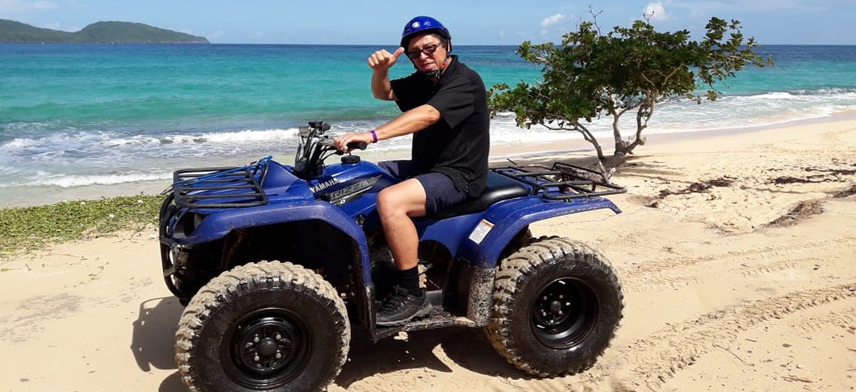 ATV Excursion for your Cruise Ship to Spectacular Playa Rincon.
